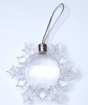 Snowflake Ornament - 53mm dia. Photo (Pack of 36)
