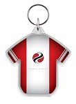 Football Shirt (Jersey) Acrylic Keyring