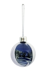 Photo Bauble White (Pack of 72)