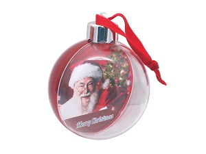 Photo Bauble Red (Pack of 36)